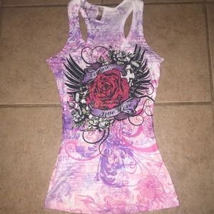 Tops - Rose Couture jeweled tank top